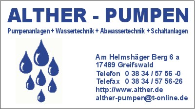 ALTHER Pumpen