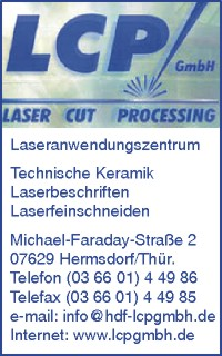 LCP GmbH Laser-Cut-Processing