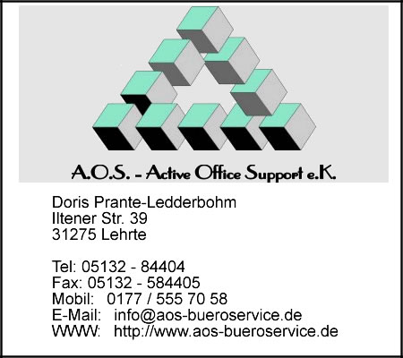 A.O.S. - Active Office Support e.K.